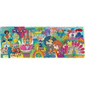 """Djeco (07649) - """"Magic India"""" - 1000 piezas"""