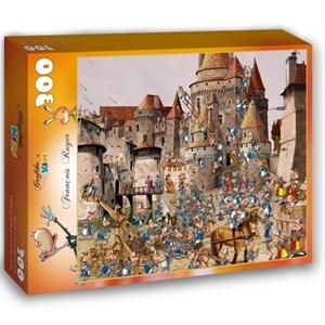 "Grafika (01447) - François Ruyer: ""Attack of the Castle"" - 300 piezas"