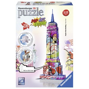 "Ravensburger (12599) - ""Empire State Building Pop Art"" - 216 piezas"