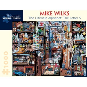"""Pomegranate (AA896) - Mike Wilks: """"The Ultimate Alphabet: The Letter S"""" - 1000 piezas"""