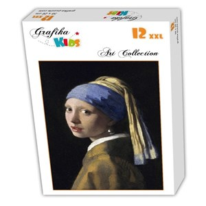 "Grafika Kids (00149) - Johannes Vermeer: ""The Girl with a Pearl Earring, 1665"" - 12 piezas"