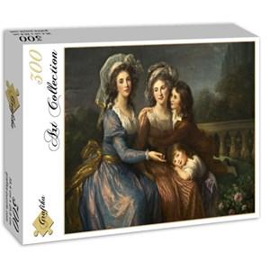 """Grafika (02171) - Élisabeth Vigée Le Brun: """"The Marquise de Pezay, and the Marquise de Rougé with Her Sons Alexi"""" - 300 piezas"""