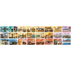 "Grafika (02199) - ""Travel around the World"" - 48000 piezas"