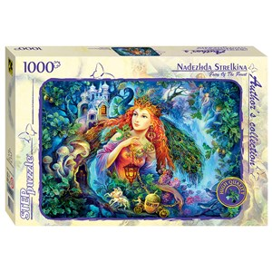 "Step Puzzle (79537) - Nadezhda Strelkina: ""Fairy of the Forest"" - 1000 piezas"
