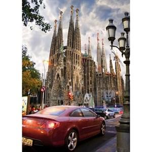 """D-Toys (64288-FP06) - """"La Sagrada Familia, Barcelona, Spain"""" - 1000 piezas"""
