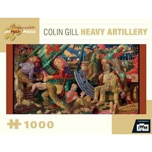 "Pomegranate (AA843) - Colin Gill: ""Heavy Artillery"" - 1000 piezas"