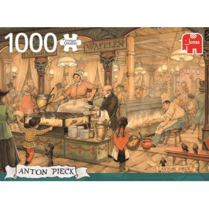 "Jumbo (17091) - Anton Pieck: ""Dutch Pancake House"" - 1000 piezas"