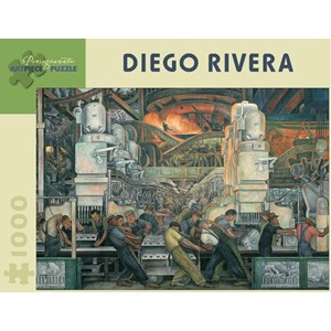 "Pomegranate (AA421) - Diego Rivera: ""Detroit Industry"" - 1000 piezas"
