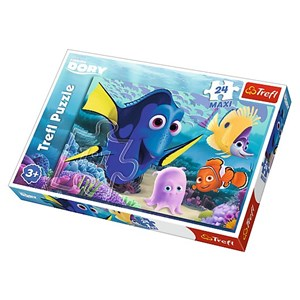 "Trefl (14239) - ""Dory & Nemo"" - 24 piezas"