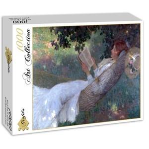"Grafika (00259) - E. Phillips Fox: ""A Love Story, 1903"" - 1000 piezas"