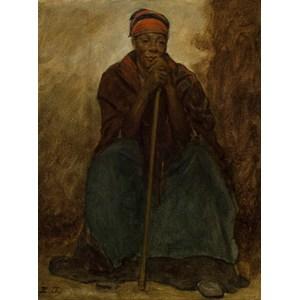 "Grafika (00331) - Eastman Johnson: ""Dinah, Portrait of a Negress"" - 2000 piezas"