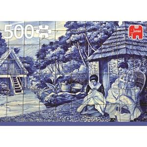 "Jumbo (18534) - ""Portugese Tiles from Funchal"" - 500 piezas"
