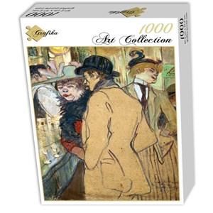 """Grafika (01992) - Henri de Toulouse-Lautrec: """"Alfred la Guigne, 1894"""" - 1000 piezas"""