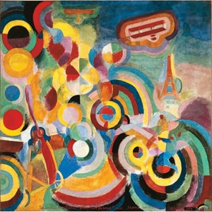 "Puzzle Michele Wilson (A254-500) - Robert Delaunay: ""Homage to Blériot"" - 500 piezas"