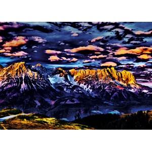 """Schmidt Spiele (59333) - Michael von Hassel: """"Mountains"""" - 1000 piezas"""