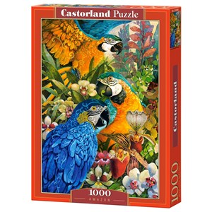 "Castorland (C-103485) - David Galchutt: ""Amazon"" - 1000 piezas"