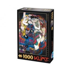 """D-Toys (66923-KL05) - Gustav Klimt: """"The Virgin"""" - 1000 piezas"""