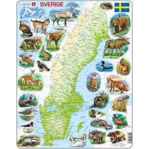 """Larsen (K6) - """"Sweden Physical with animals"""" - 71 piezas"""