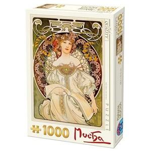 "D-Toys (66930-MU01) - Alphonse Mucha: ""Daydream"" - 1000 piezas"