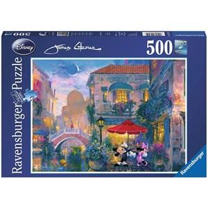 "Ravensburger (14725) - James Coleman: ""Mickey in Venice"" - 500 piezas"