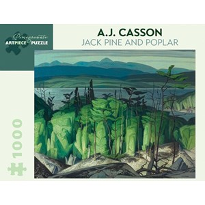 "Pomegranate (AA849) - A.J. Casson: ""Jack Pine And Poplar"" - 1000 piezas"