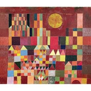 """Puzzle Michele Wilson (W203-24) - Paul Klee: """"Castle and Sun"""" - 24 piezas"""
