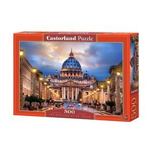 """Castorland (B-52349) - """"The Basilica of St. Peter"""" - 500 piezas"""