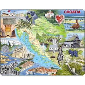 """Larsen (A21-GB) - """"Croatia"""" - 65 piezas"""
