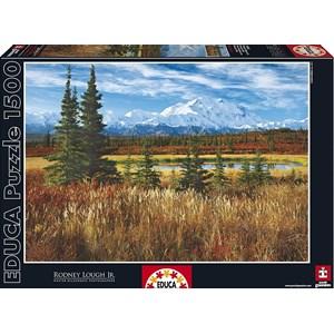 "Educa (16008) - Rodney Lough Jr.: ""Denali National Park"" - 1500 piezas"