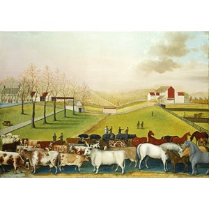 "Grafika (00251) - Edward Hicks: ""The Cornell Farm, 1848"" - 1000 piezas"