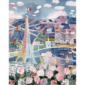 "Puzzle Michele Wilson (W25-24) - Raoul Dufy: ""Paris in Spring"" - 24 piezas"