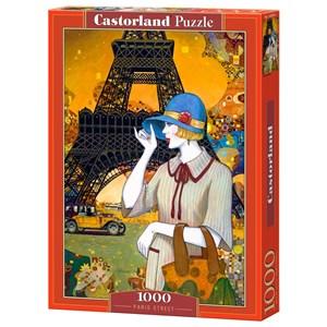 """Castorland (C-103591) - Helena Lam: """"Paris Street"""" - 1000 piezas"""