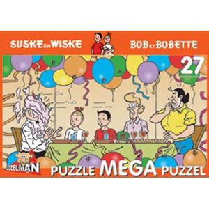 "PuzzelMan (358) - ""Bob and Bobette, Tart with cream"" - 27 piezas"