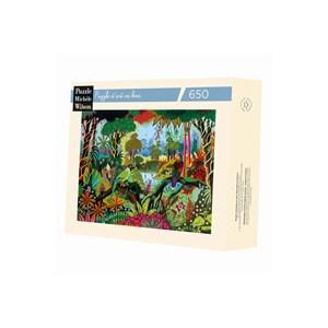 """Puzzle Michele Wilson (A491-650) - Alain Thomas: """"Jungle"""" - 650 piezas"""