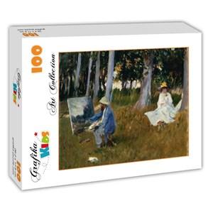 "Grafika Kids (00103) - John Singer Sargent: ""Claude Monet by John Singer Sargent, 1885"" - 100 piezas"