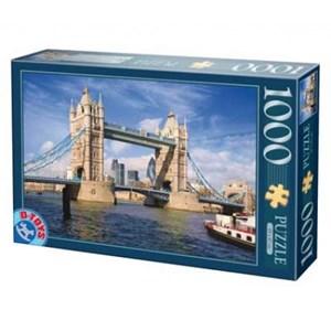 """D-Toys (64288-FP08) - """"Tower Bridge, London"""" - 1000 piezas"""