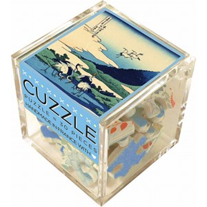"Puzzle Michele Wilson (Z22) - Hokusai: ""Manor in Sagami Province"" - 30 piezas"