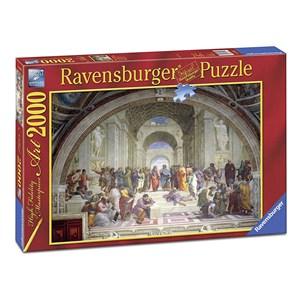 "Ravensburger (16669) - Raphael: ""The School of Athens"" - 2000 piezas"