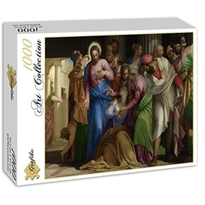 "Grafika (00308) - Paolo Veronese: ""The Conversion of Mary Magdalene, 1548"" - 1000 piezas"