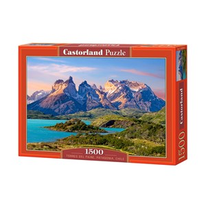 "Castorland (C-150953) - ""Torres del Paine National Park in Patagonia, Chile"" - 1500 piezas"
