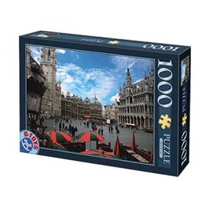 "D-Toys (64288-FP01) - ""Brussels, Belgium"" - 1000 piezas"