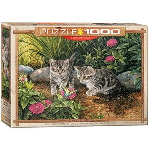 """Eurographics (6000-0796) - Rosemary Millette: """"Double Trouble"""" - 1000 piezas"""