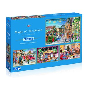 "Gibsons (G5046) - Trevor Mitchell: ""Magic of Christmas"" - 500 piezas"