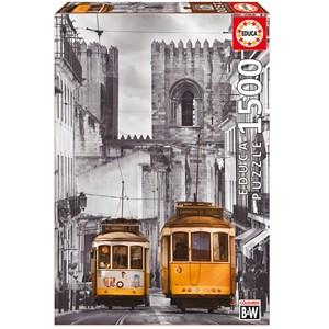 "Educa (16311) - ""The Alfama District, Lisbon"" - 1500 piezas"