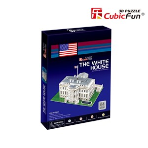 "Cubic Fun (C060H) - ""Washington, The White House"" - 65 piezas"