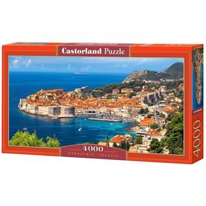 "Castorland (C-400225) - ""Dubrovnik, Croatia"" - 4000 piezas"