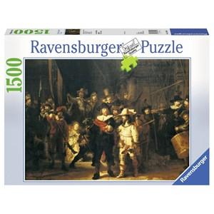 "Ravensburger (16205) - Rembrandt: ""The Night Watch"" - 1500 piezas"