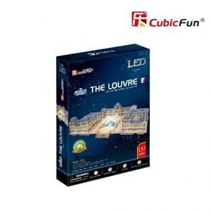 """Cubic Fun (L517h) - """"Le Louvre"""" - 137 piezas"""