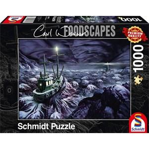 "Schmidt Spiele (59374) - Carl Warner: ""Stormy Sea"" - 1000 piezas"