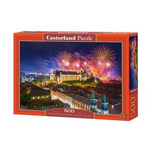 """Castorland (B-52721) - """"Wawel Castle, Krakow, Poland"""" - 500 piezas"""